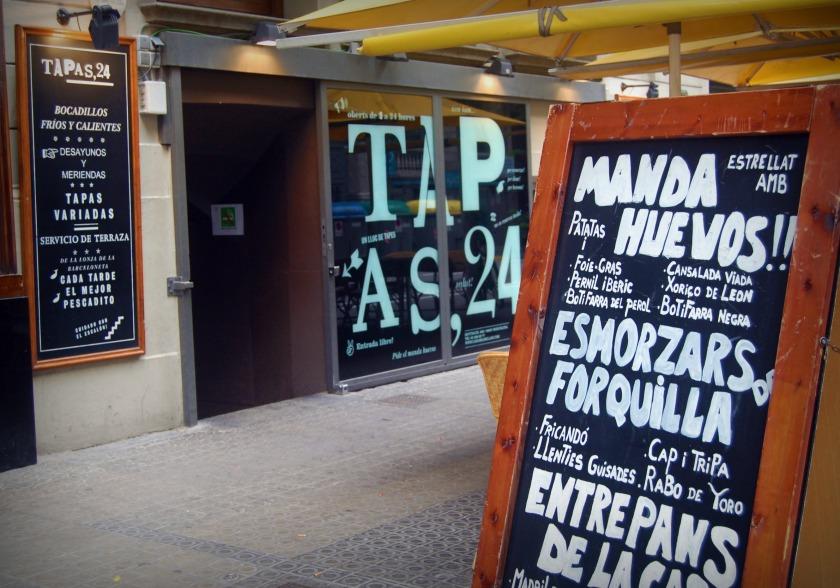 Tapas 24, Barcelona