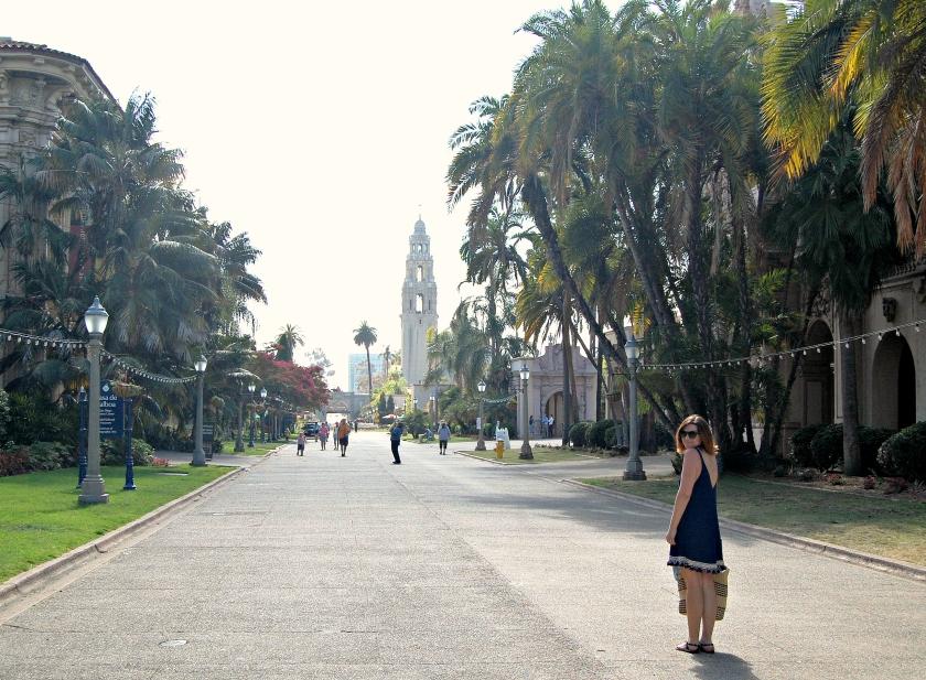 Balboa Park in downtown San Diego, California
