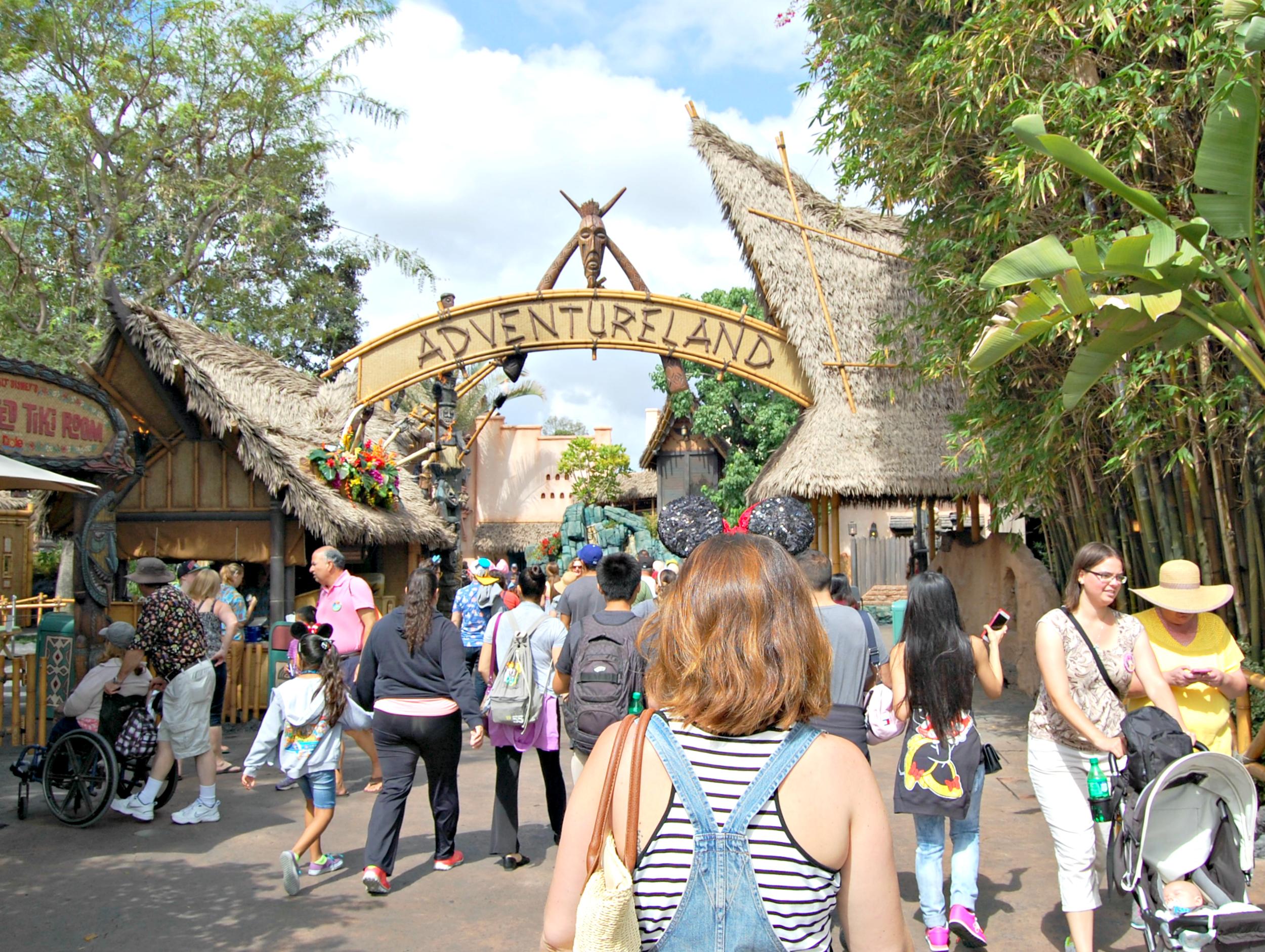 Disneyland Adventureland, California