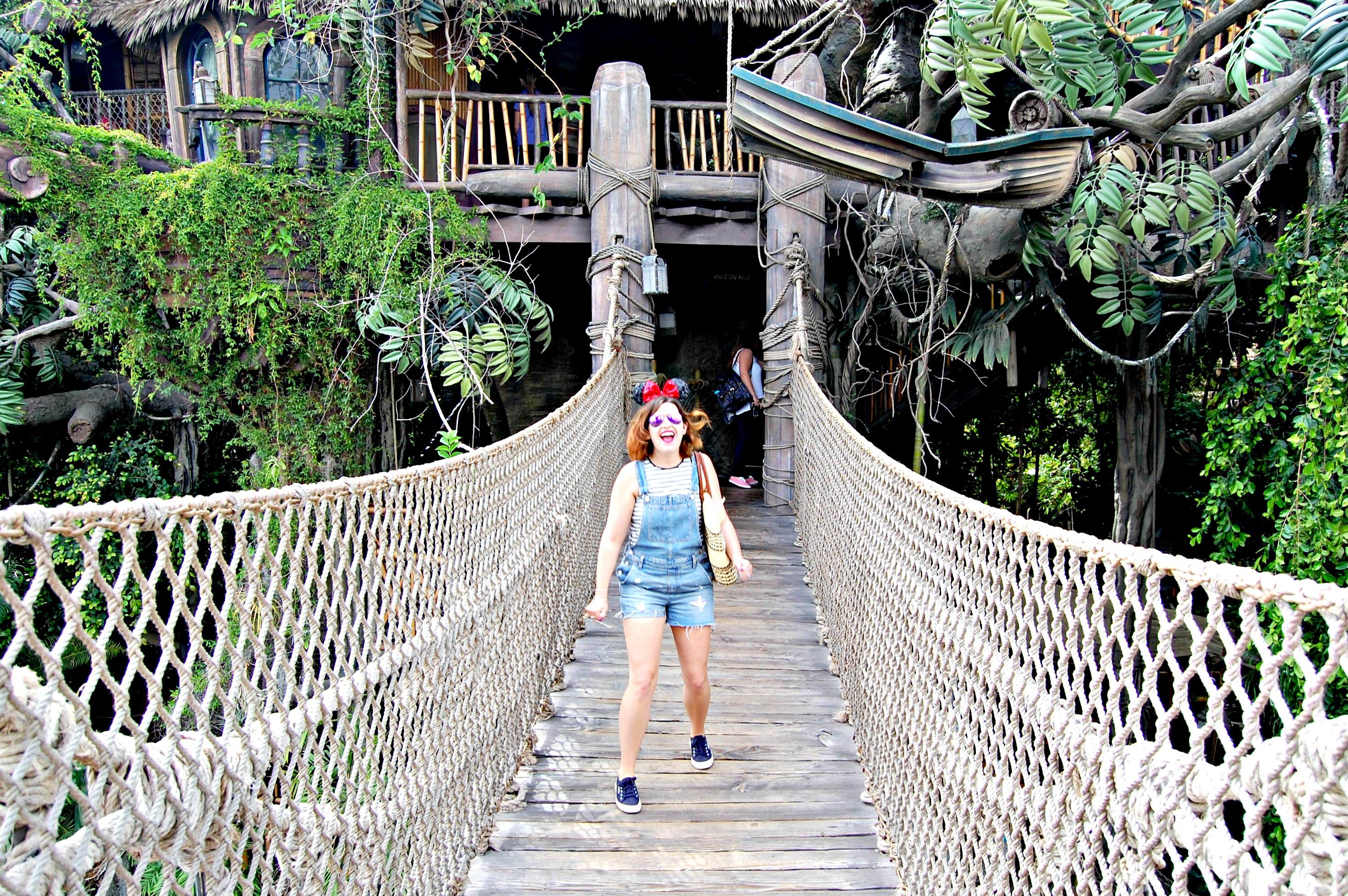 Tarzan's Treehouse, Disneyland