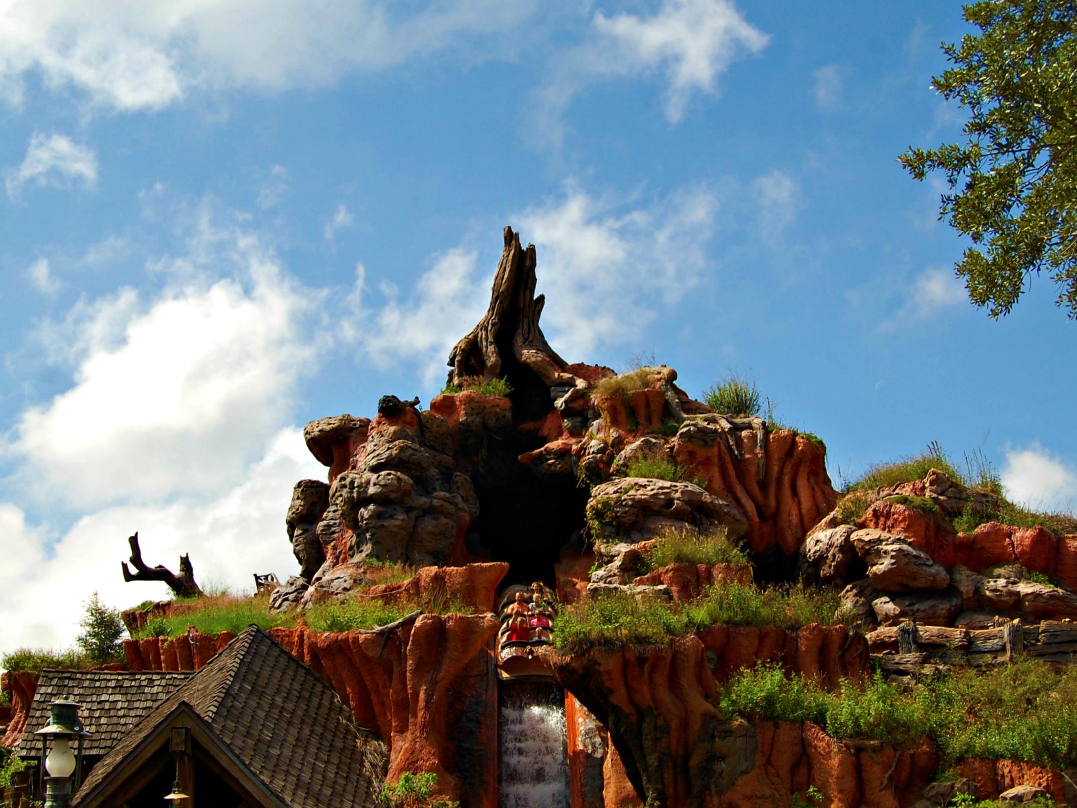 Splash Mountain, the Magic Kingdom