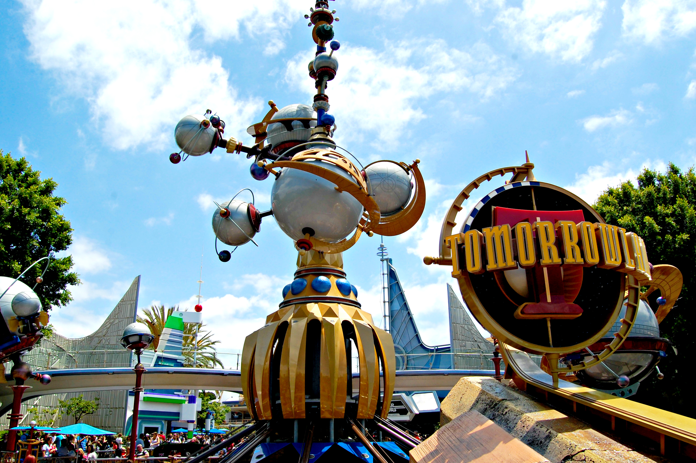 Disneyland's version of Tomorrowland