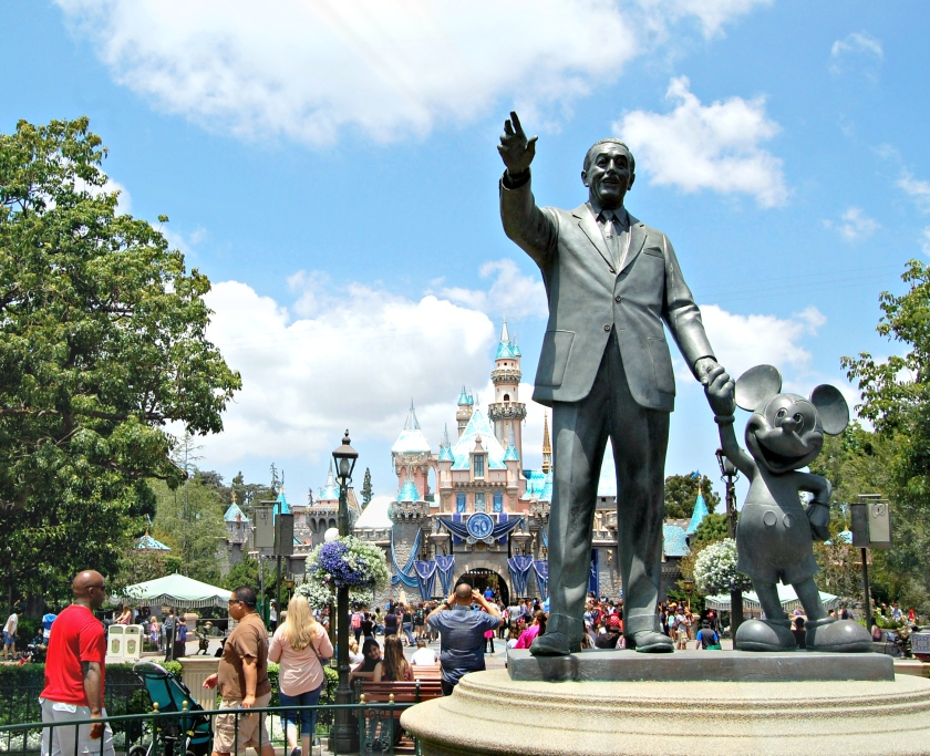 Partners Statue, Disneyland