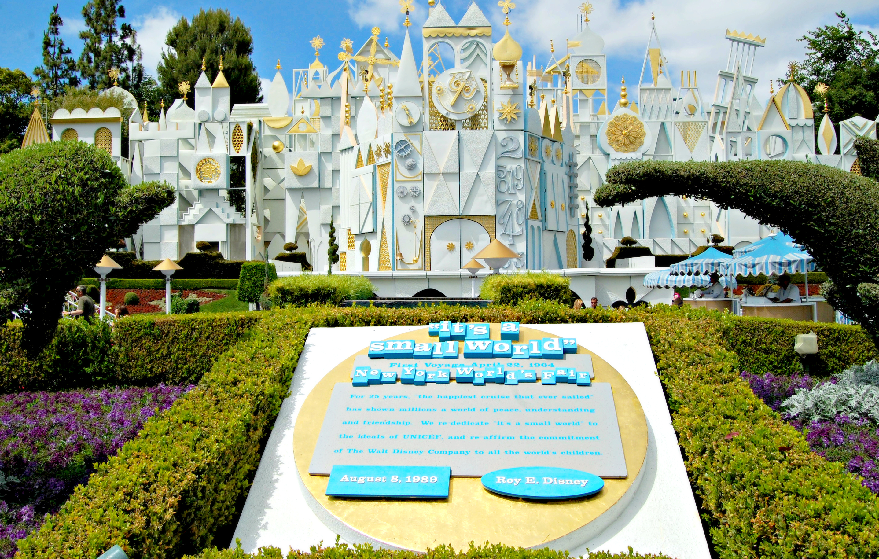 Disneyland's exterior of It's a Small World