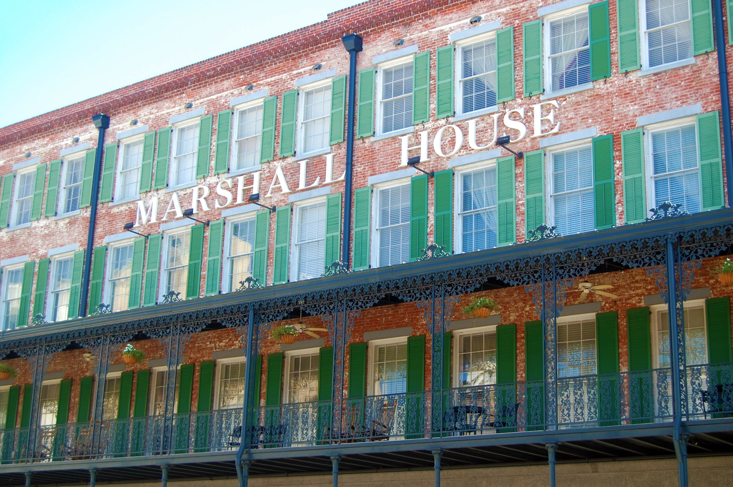 Marshall House, Savannah, Ga