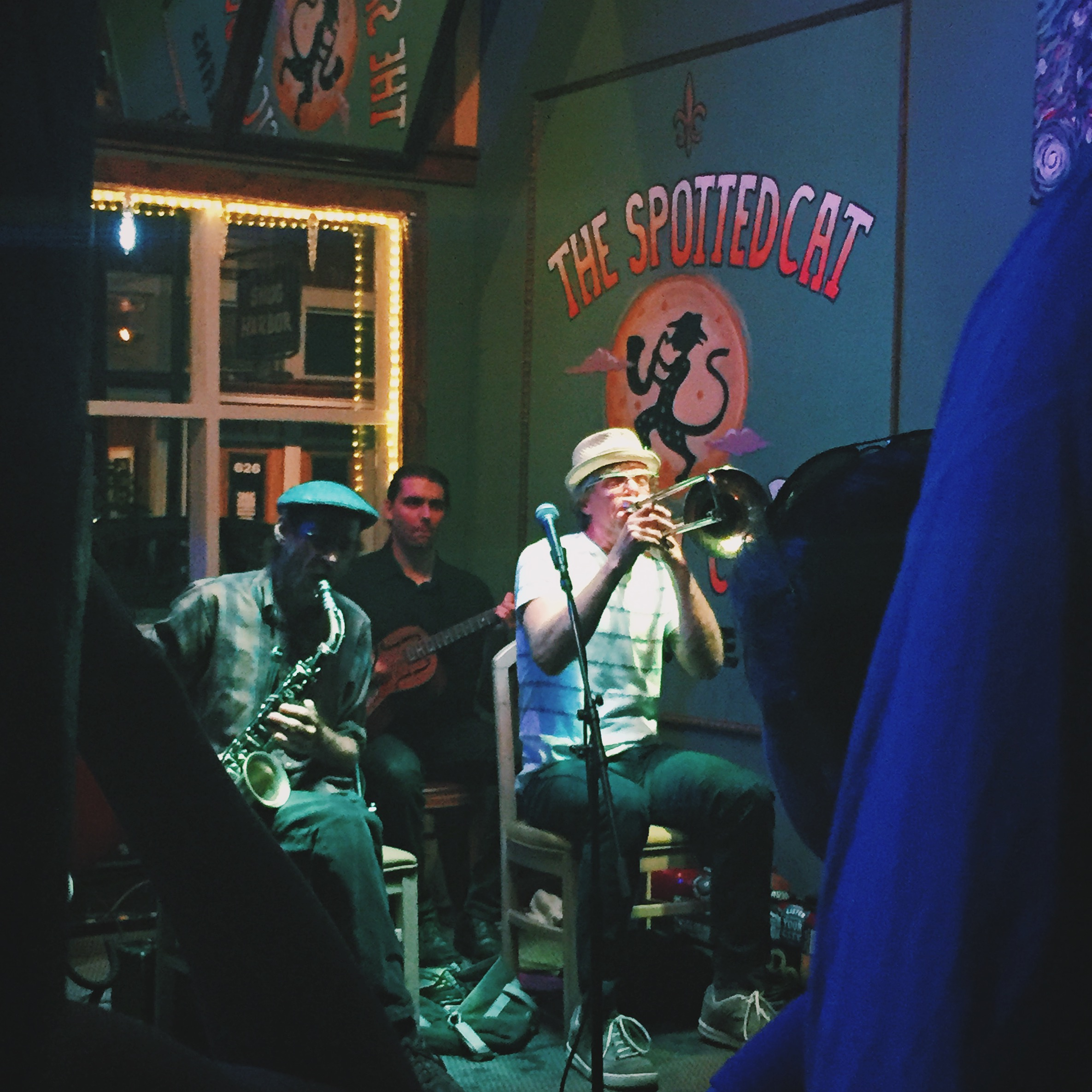The Spotted Cat, Frenchmen Street, New Orleans, La