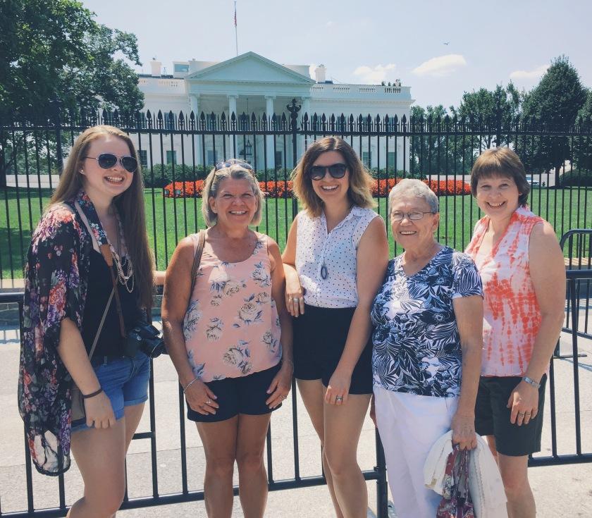 girls weekend in Washington, D.C.