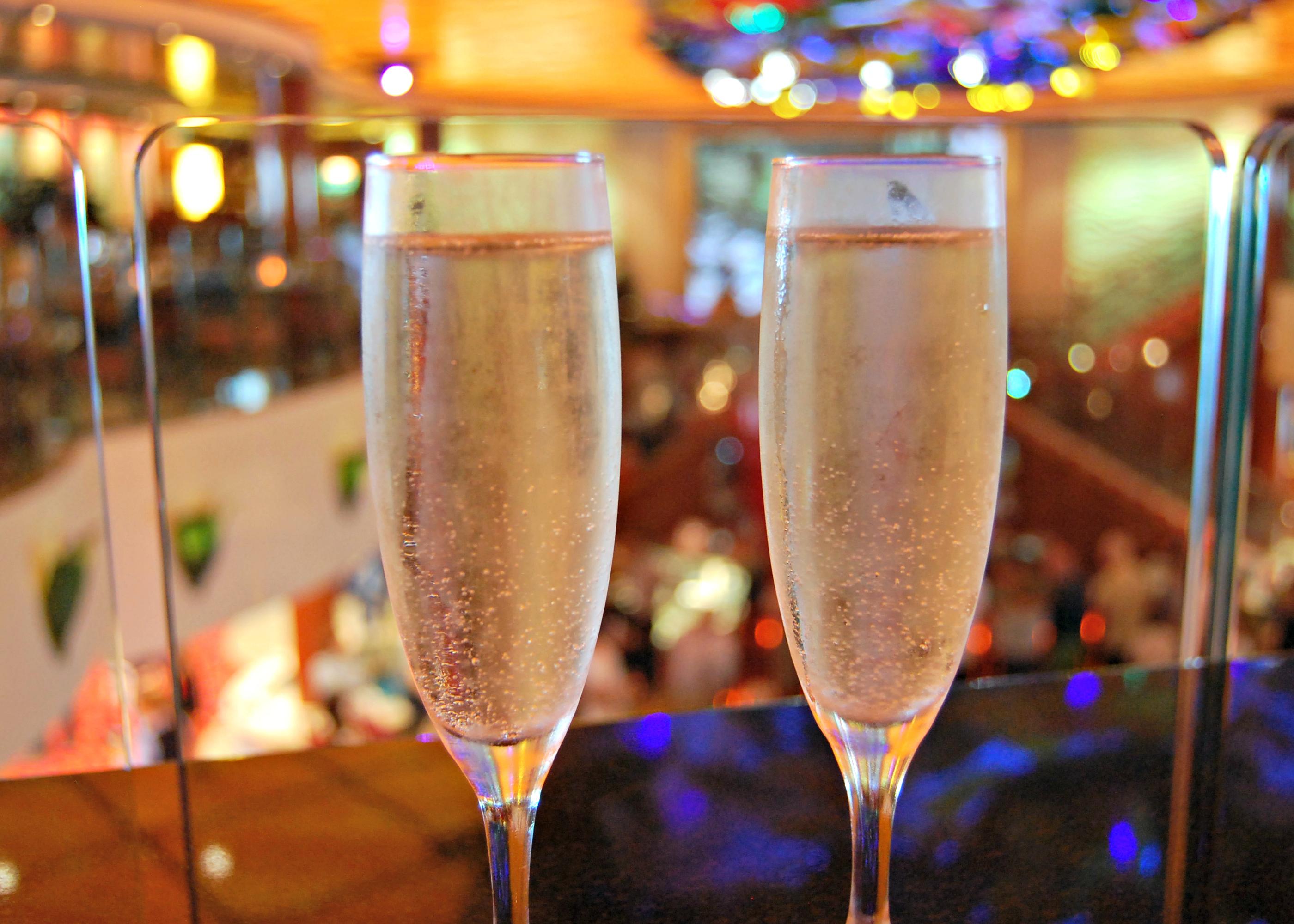 Norwegian Jade champagne cruise