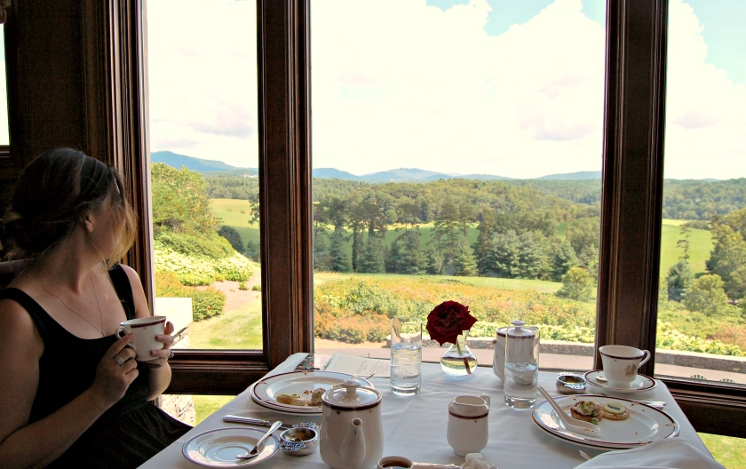 Afternoon tea at the Biltmore Estate | Rosé and Reservations