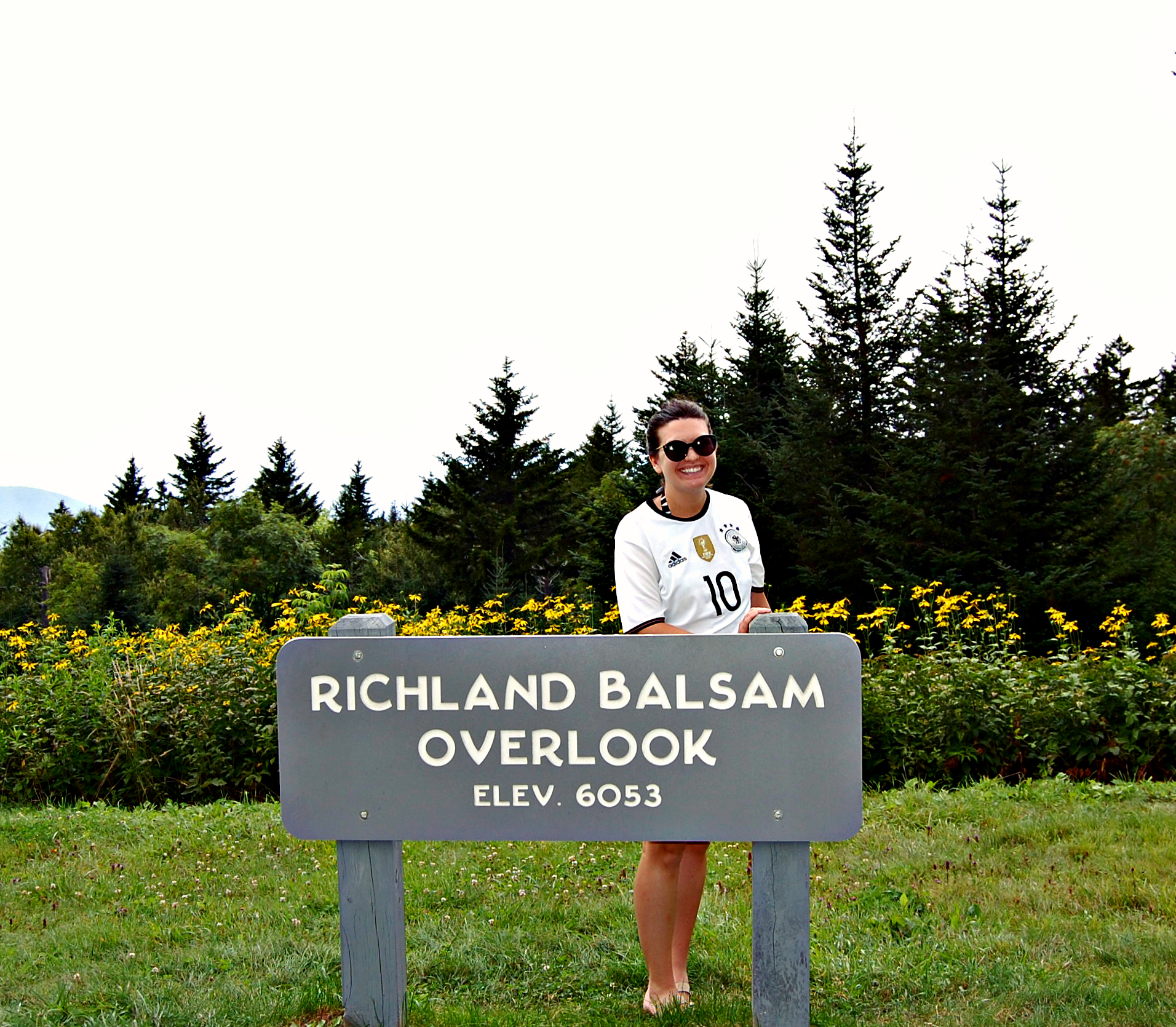 Richland Balsam Overlook, Blue Ridge Parkway | Rosé and Reservations