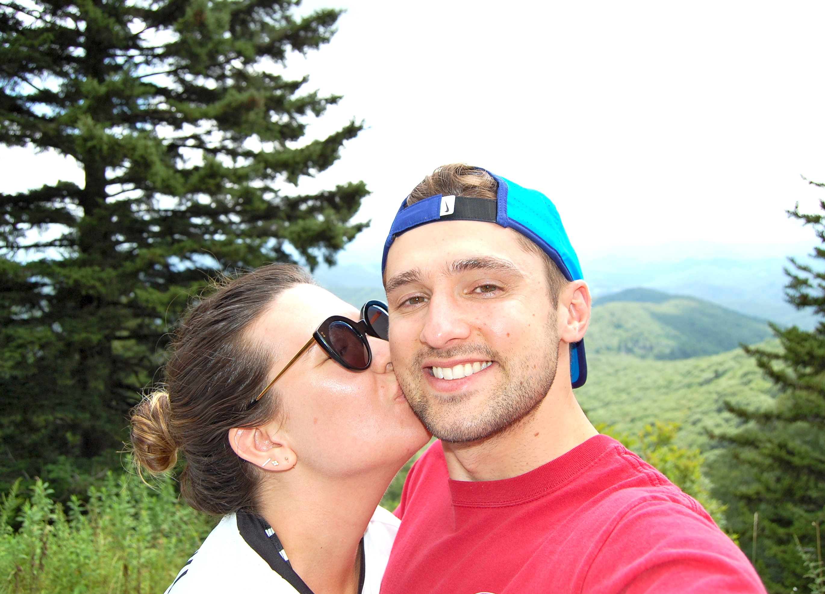 Blue Ridge Parkway   Rosé and Reservations