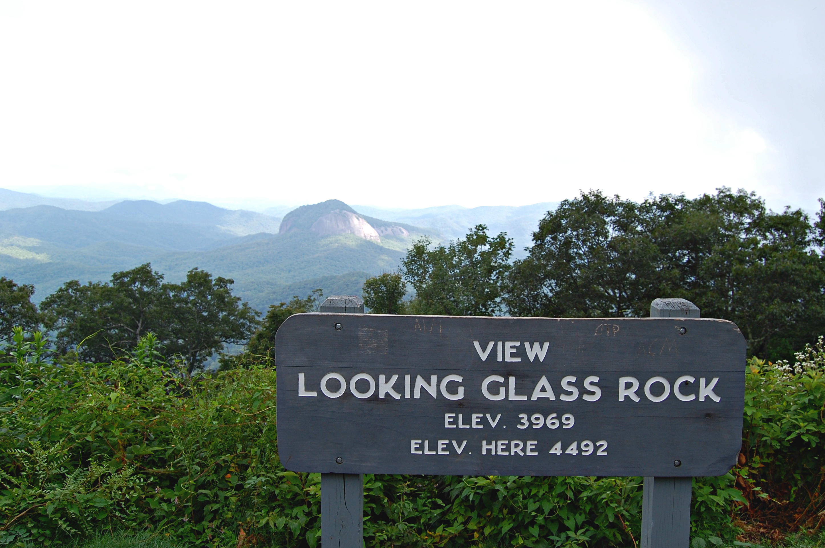 Looking Glass Rock, Blue Ridge Parkway | Rosé and Reservations