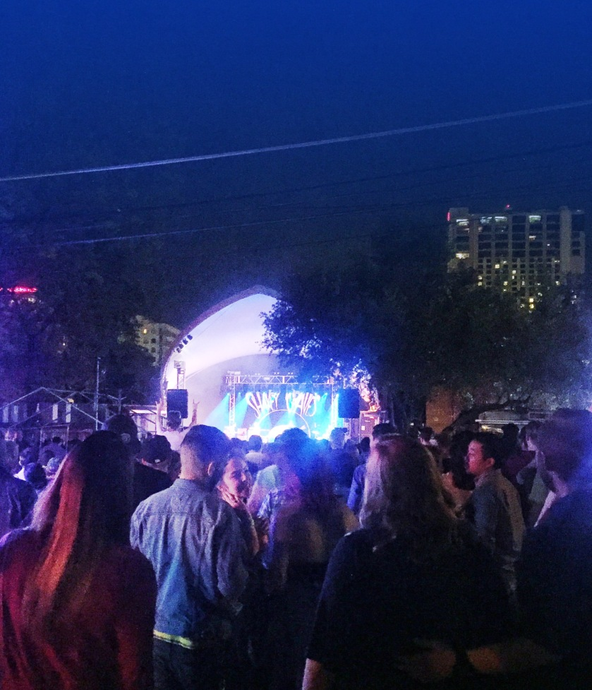 Shakey Graves performs at Stubbs BBQ, Austin, TX | Rosé and Reservations
